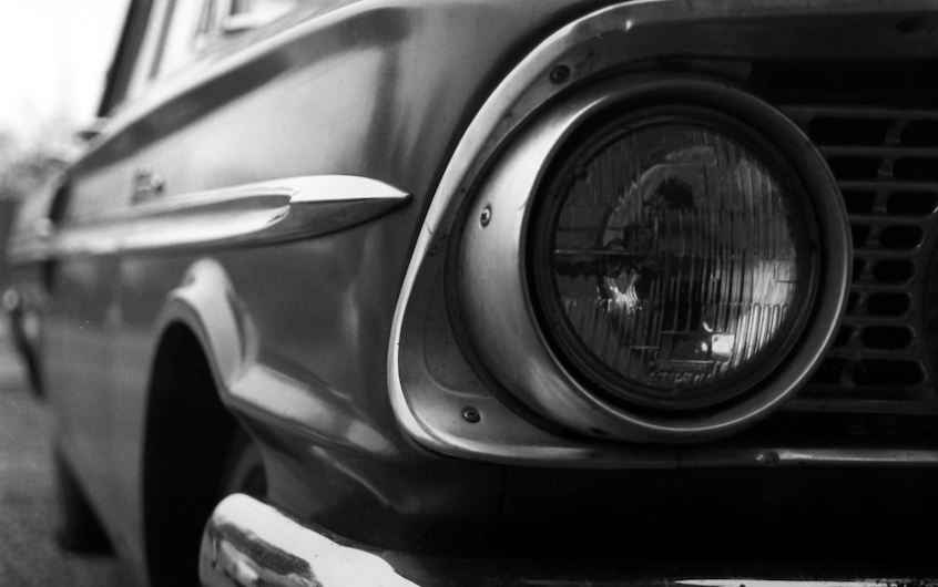 Front shot of a '64 Ford Fairlane